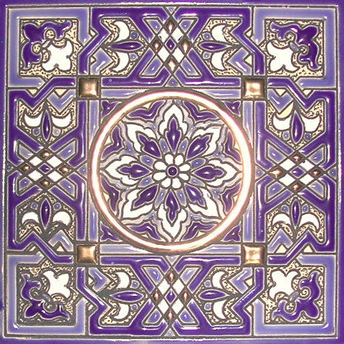 decorative tiles at